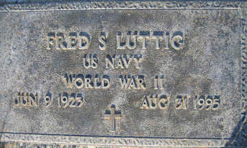 LUTTIG, FRED S - Mohave County, Arizona   FRED S LUTTIG - Arizona Gravestone Photos