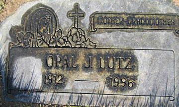 LUTZ, OPAL J - Mohave County, Arizona | OPAL J LUTZ - Arizona Gravestone Photos