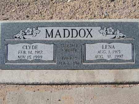 MADDOX, CLYDE - Mohave County, Arizona   CLYDE MADDOX - Arizona Gravestone Photos