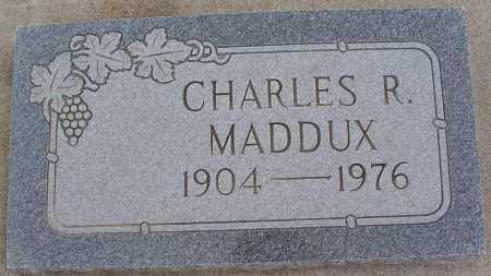 MADDUX, CHARLES R. - Mohave County, Arizona   CHARLES R. MADDUX - Arizona Gravestone Photos