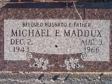 MADDUX, MICHAEL E. - Mohave County, Arizona | MICHAEL E. MADDUX - Arizona Gravestone Photos