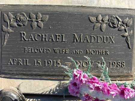MADDUX, RACHAEL - Mohave County, Arizona   RACHAEL MADDUX - Arizona Gravestone Photos