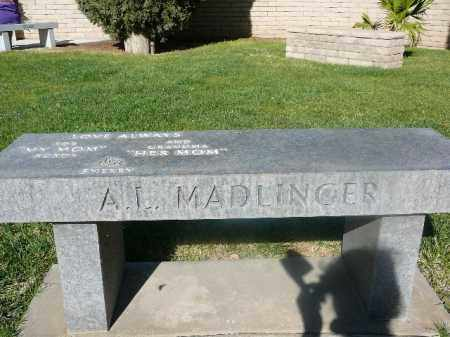 MADLINGER, A L - Mohave County, Arizona | A L MADLINGER - Arizona Gravestone Photos