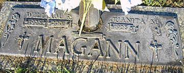 MAGANN, WILLIAM R - Mohave County, Arizona | WILLIAM R MAGANN - Arizona Gravestone Photos