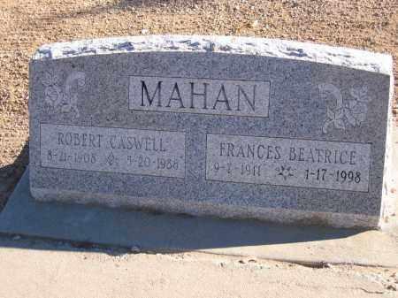 MAHAN, ROBERT CASWELL - Mohave County, Arizona   ROBERT CASWELL MAHAN - Arizona Gravestone Photos