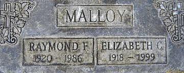 MALLOY, ELIZABETH C - Mohave County, Arizona | ELIZABETH C MALLOY - Arizona Gravestone Photos
