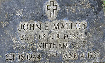 MALLOY, JOHN E - Mohave County, Arizona | JOHN E MALLOY - Arizona Gravestone Photos