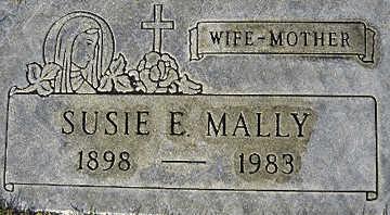 MALLY, SUSIE E - Mohave County, Arizona | SUSIE E MALLY - Arizona Gravestone Photos