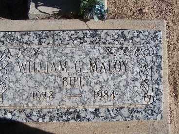 MALOY, WILLIAM G. - Mohave County, Arizona | WILLIAM G. MALOY - Arizona Gravestone Photos