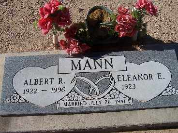MANN, ELEANOR E. - Mohave County, Arizona | ELEANOR E. MANN - Arizona Gravestone Photos