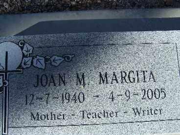 MARGITA, JOAN M. - Mohave County, Arizona | JOAN M. MARGITA - Arizona Gravestone Photos