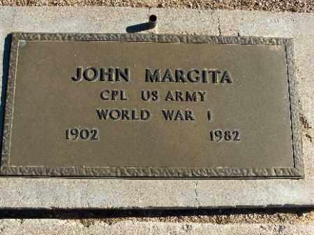MARGITA, JOHN - Mohave County, Arizona   JOHN MARGITA - Arizona Gravestone Photos