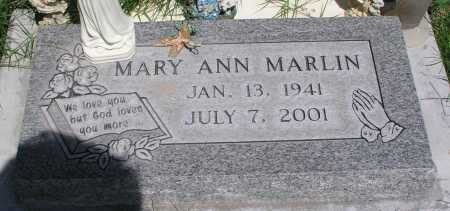 MARLIN, MARY ANN - Mohave County, Arizona | MARY ANN MARLIN - Arizona Gravestone Photos