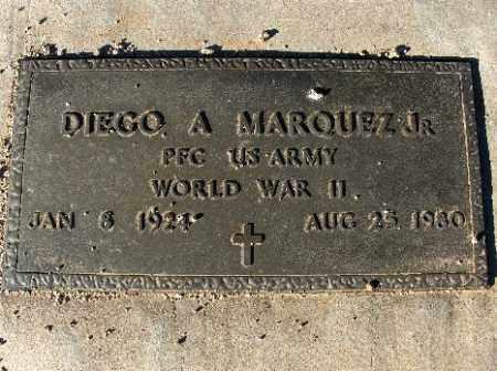 MARQUEZ JR, DIEGO A - Mohave County, Arizona | DIEGO A MARQUEZ JR - Arizona Gravestone Photos