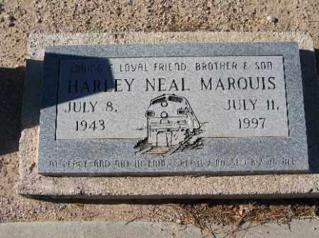 MARQUIS, HARLEY NEAL - Mohave County, Arizona | HARLEY NEAL MARQUIS - Arizona Gravestone Photos