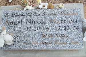 MARRIOTT, ANGEL NICOLE - Mohave County, Arizona   ANGEL NICOLE MARRIOTT - Arizona Gravestone Photos