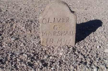 MARSHALL, OLIVER G - Mohave County, Arizona   OLIVER G MARSHALL - Arizona Gravestone Photos