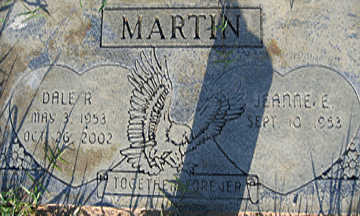 MARTIN, JEANNE E - Mohave County, Arizona | JEANNE E MARTIN - Arizona Gravestone Photos