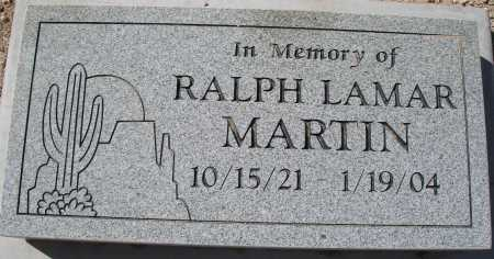MARTIN, RALPH LAMAR - Mohave County, Arizona | RALPH LAMAR MARTIN - Arizona Gravestone Photos
