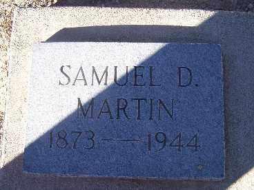 MARTIN, SAMUEL D. - Mohave County, Arizona | SAMUEL D. MARTIN - Arizona Gravestone Photos
