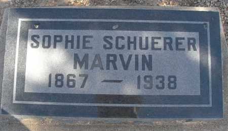 SCHUERER MARVIN, SOPHIE - Mohave County, Arizona | SOPHIE SCHUERER MARVIN - Arizona Gravestone Photos