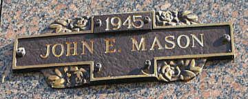 MASON, JOHN E - Mohave County, Arizona | JOHN E MASON - Arizona Gravestone Photos
