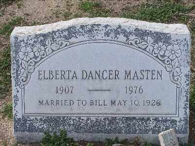 DANCER MASTEN, ELBERTA - Mohave County, Arizona | ELBERTA DANCER MASTEN - Arizona Gravestone Photos