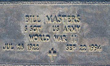 MASTERS, BILL - Mohave County, Arizona   BILL MASTERS - Arizona Gravestone Photos