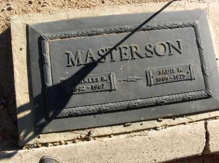 MASTERSON, CHARLES R. - Mohave County, Arizona | CHARLES R. MASTERSON - Arizona Gravestone Photos