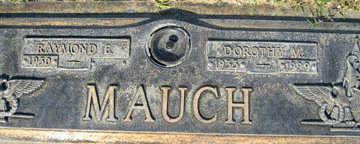 MAUCH, DOROTHY M - Mohave County, Arizona | DOROTHY M MAUCH - Arizona Gravestone Photos