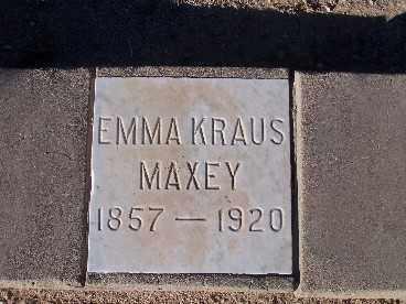 MAXEY, EMMA KRAUS - Mohave County, Arizona | EMMA KRAUS MAXEY - Arizona Gravestone Photos