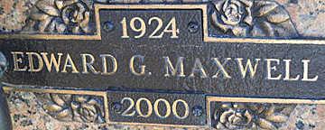 MAXWELL, EDWARD G - Mohave County, Arizona | EDWARD G MAXWELL - Arizona Gravestone Photos