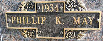 MAY, PHILLIP K - Mohave County, Arizona | PHILLIP K MAY - Arizona Gravestone Photos
