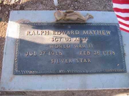 MAYHEW, RALPH EDWARD - Mohave County, Arizona | RALPH EDWARD MAYHEW - Arizona Gravestone Photos
