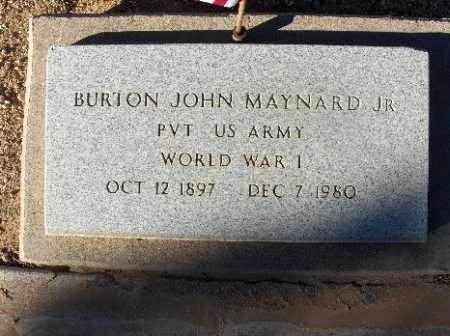 MAYNARD JR, BURTON JOHN - Mohave County, Arizona | BURTON JOHN MAYNARD JR - Arizona Gravestone Photos