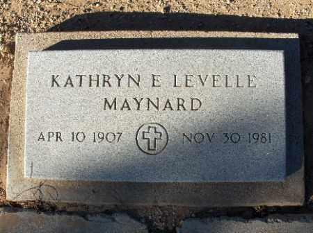 MAYNARD, KATHRYN E. - Mohave County, Arizona | KATHRYN E. MAYNARD - Arizona Gravestone Photos