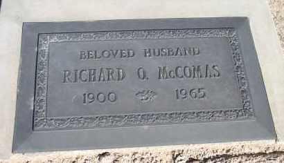 MC COMAS, RICHARD OLIVER - Mohave County, Arizona | RICHARD OLIVER MC COMAS - Arizona Gravestone Photos