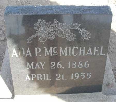 MC MICHAEL, ADA P. - Mohave County, Arizona | ADA P. MC MICHAEL - Arizona Gravestone Photos