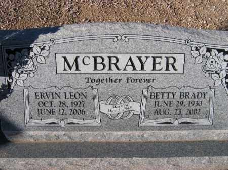 MCBRAYER, BETTY BRADY - Mohave County, Arizona | BETTY BRADY MCBRAYER - Arizona Gravestone Photos