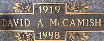 MCCAMISH, DAVID A - Mohave County, Arizona | DAVID A MCCAMISH - Arizona Gravestone Photos
