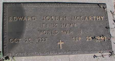 MCCARTHY, EDWARD JOSEPH - Mohave County, Arizona | EDWARD JOSEPH MCCARTHY - Arizona Gravestone Photos