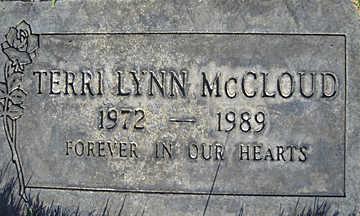 MCCLOUD, TERRI LYNN - Mohave County, Arizona | TERRI LYNN MCCLOUD - Arizona Gravestone Photos