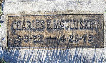 MCCLUSKEY, CHARLES E - Mohave County, Arizona | CHARLES E MCCLUSKEY - Arizona Gravestone Photos