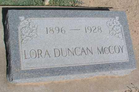 DUNCAN MCCOY, LORA - Mohave County, Arizona | LORA DUNCAN MCCOY - Arizona Gravestone Photos