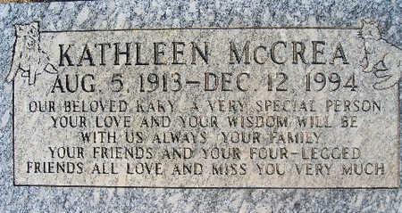 MCCREA, KATHLEEN - Mohave County, Arizona | KATHLEEN MCCREA - Arizona Gravestone Photos