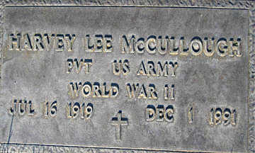 MCCULLOUGH, HARVEY LEE - Mohave County, Arizona | HARVEY LEE MCCULLOUGH - Arizona Gravestone Photos