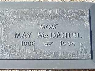 MCDANIEL, MAY - Mohave County, Arizona | MAY MCDANIEL - Arizona Gravestone Photos