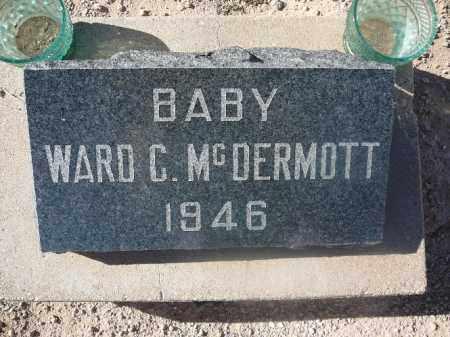 MCDERMOTT, WARD C - Mohave County, Arizona   WARD C MCDERMOTT - Arizona Gravestone Photos