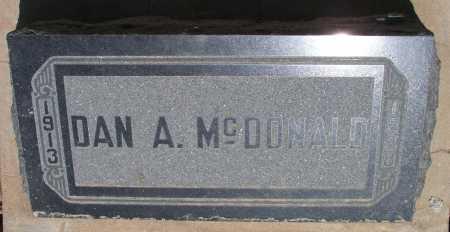 MCDONALD, DAN A. - Mohave County, Arizona | DAN A. MCDONALD - Arizona Gravestone Photos
