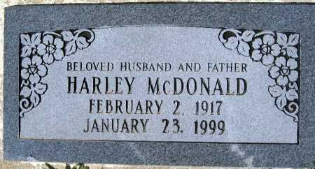 MCDONALD, HARLEY - Mohave County, Arizona | HARLEY MCDONALD - Arizona Gravestone Photos